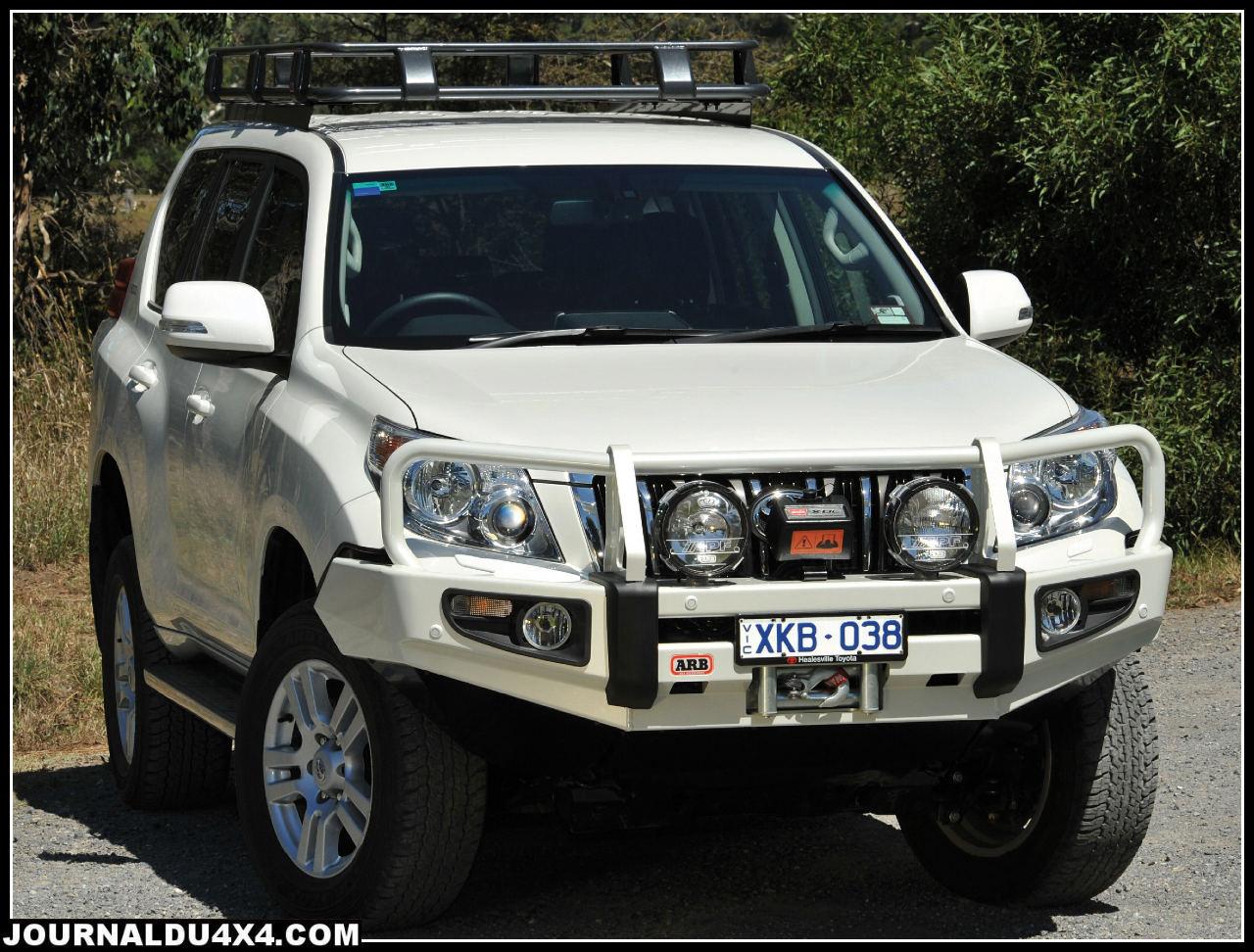 Toyota KDJ150 pare choc / winch bar ARB