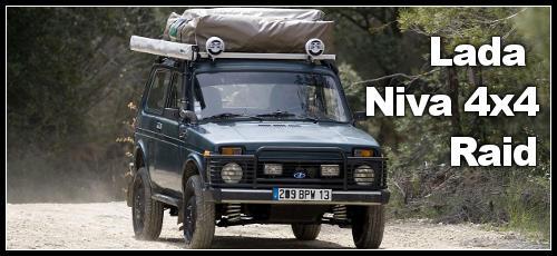 Lada Niva 4×4 pour le raid et les vacances
