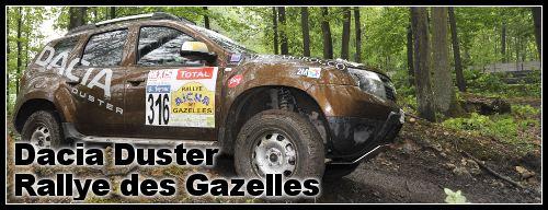 Essai Duster 4×4 rallye des Gazelles
