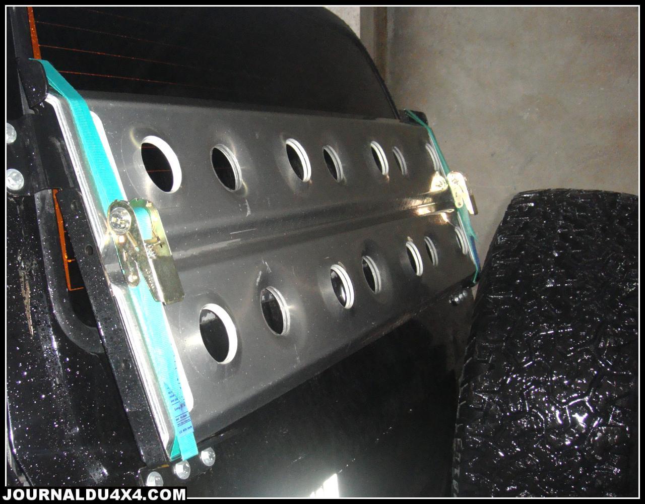 Support de plaques à sable sur Hayon pour HDJ80, HDJ100, LC500, HZJ105
