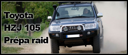Toyota HZJ 105 raid