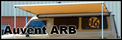 Auvent  Arb 4×4