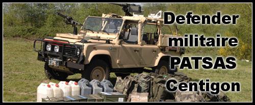 Defender militaire PATSAS Centigon