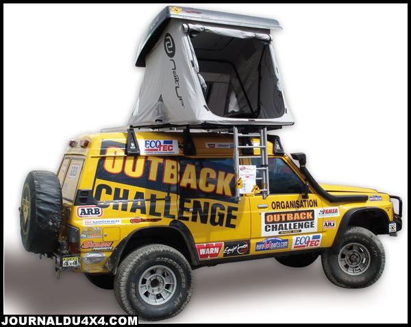 Tente 4×4 Outback Naitup