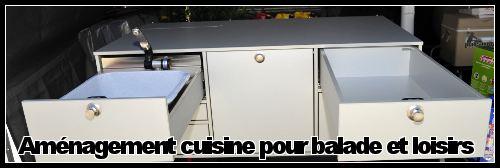 Aménagement 4×4 bloc cuisine