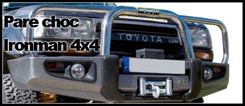 Pare choc 4×4 Ironman – montage sur un HDJ 80