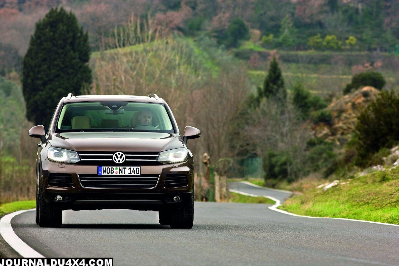 Touareg  Volkswagen nouveau moteur d'entrée de gamme
