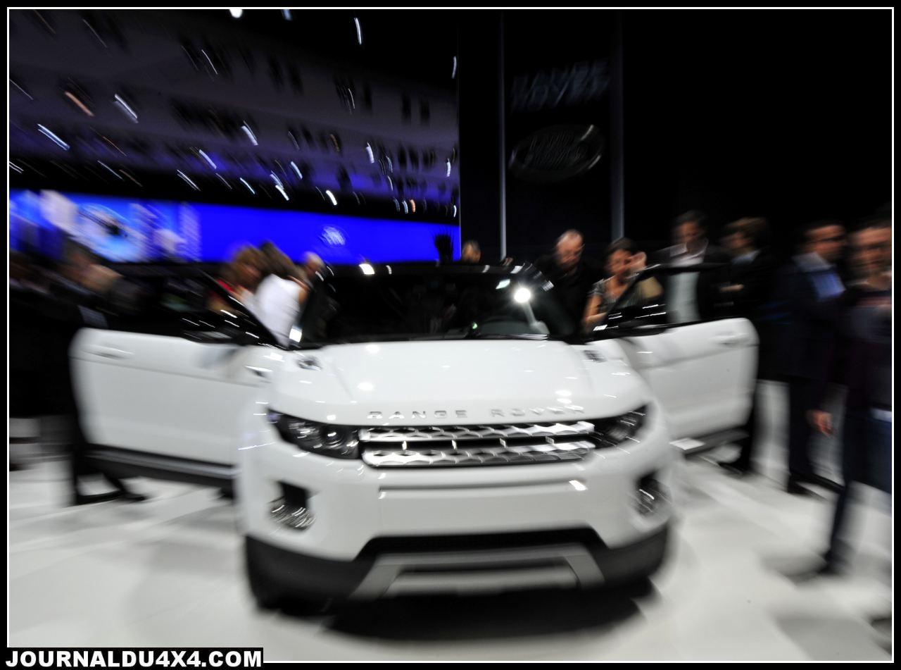 Range Rover Evoque + 5 portes en prévision