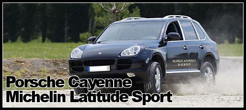 Porsche Cayenne et Latitude Sport Michelin