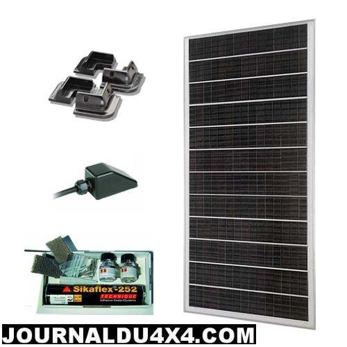 panneau solaire 12V 45W  pour 4×4