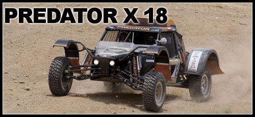 Predator X18 buggy