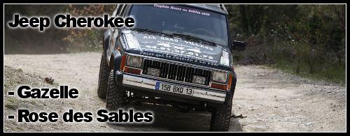 Jeep Cherokee 2,5 L TD  Rallye des Gazelles