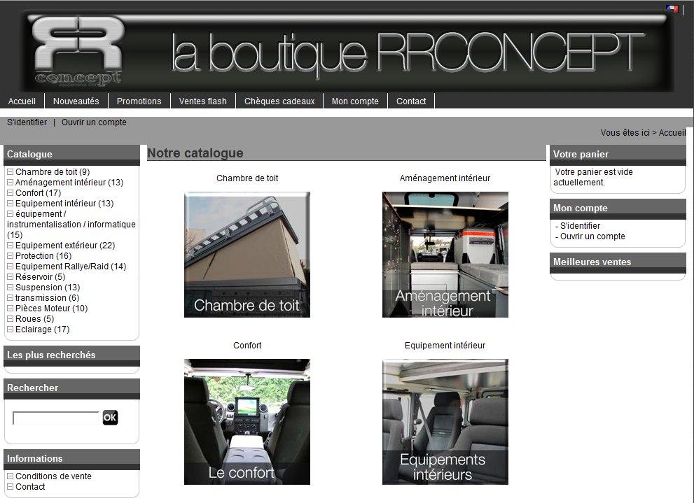 Boutique Land Rover RR Concept