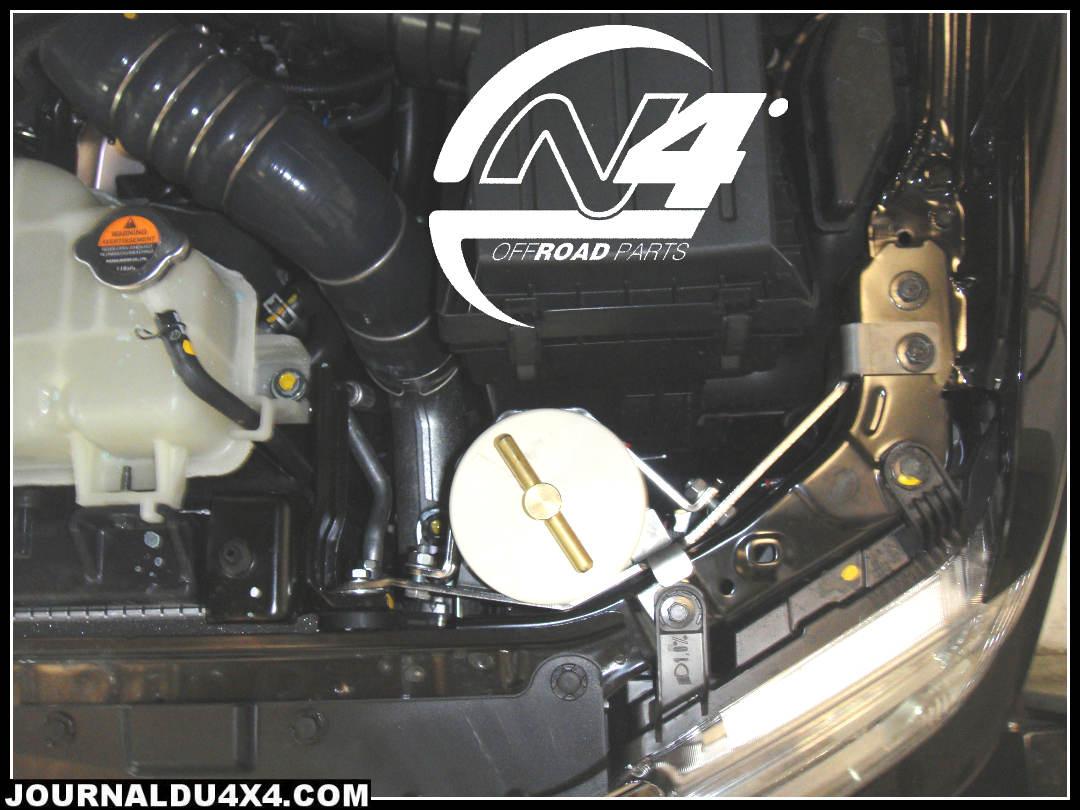 pré-filtre à gasoil Nissan V6