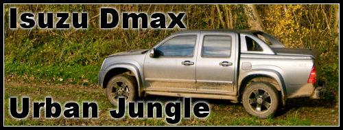 Isuzu Dmax Urban Jungle Dmax civilisé