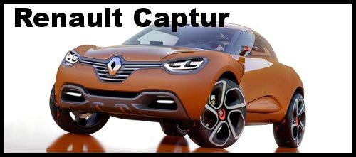 SUV Renault Captur – concept car captur