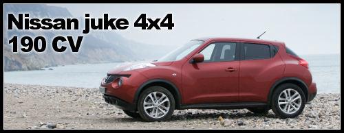 juke 4×4 Suv essai Nissan