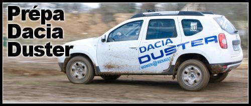 Dacia Duster préparation Duster Dacia Gazelle