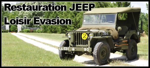 Restauration 4×4 : Jeep Willys