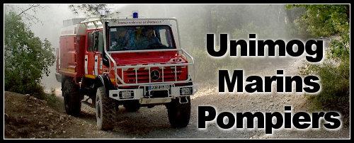 Unimog Mercedes : Unimog chez les pompiers
