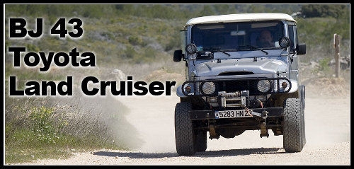 BJ 43 Toyota Land Cruiser