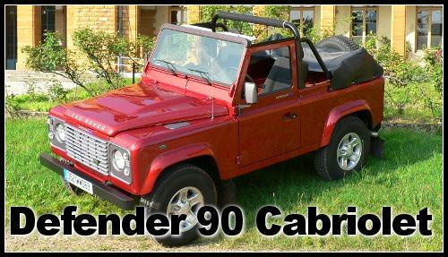 Defender 90 Cabriolet