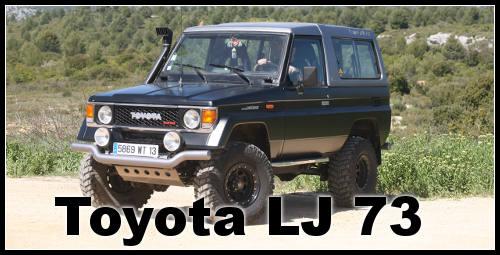 Toyota 4×4   LJ 73 préparé franchissement