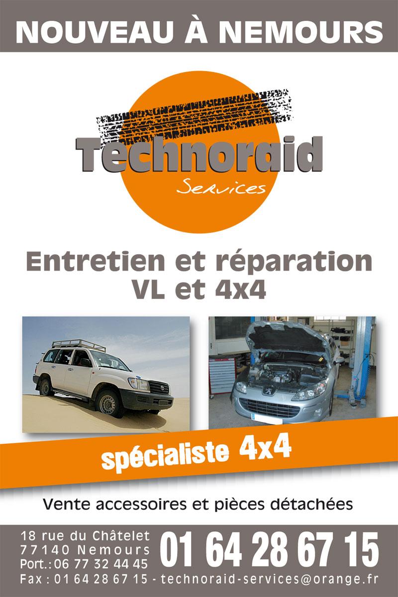 Technoraid services garage 4x4 nemours seine et marne for Garage peugeot nemours