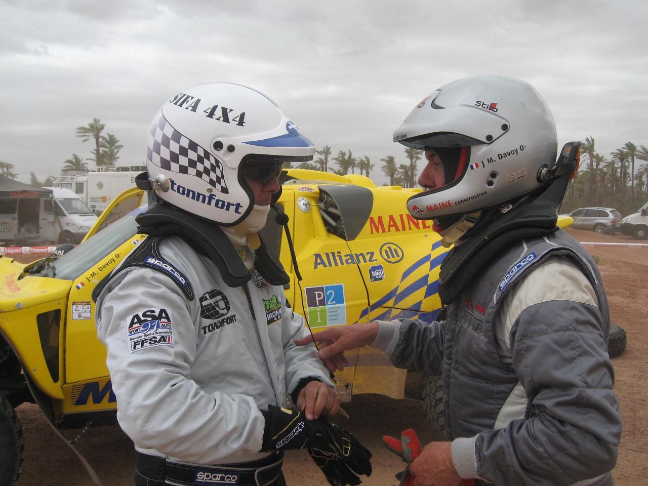 Lansac, Schlesser, Davoy et Guehennec vainqueur à Marrakeck