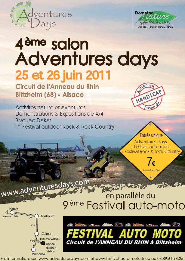 Adventures Days 2011 du 25-26 Juin 2011