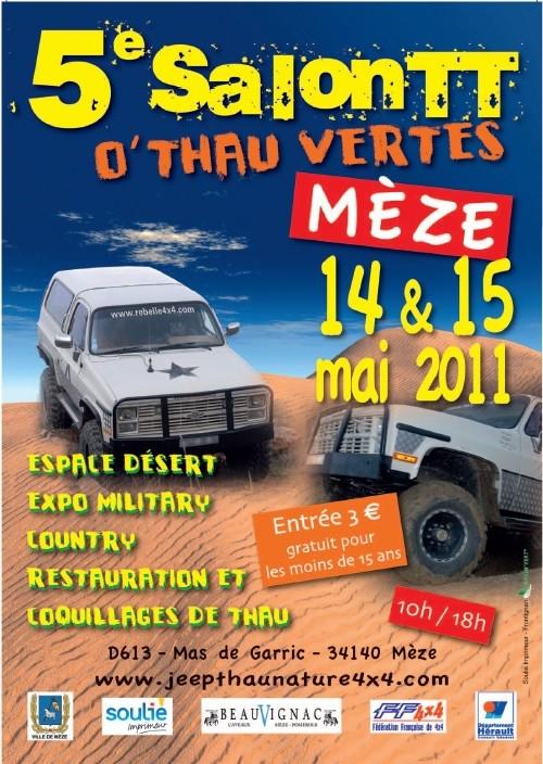 Salon 4×4 tout terrain 14-15 mai  «O'Thau vertes»