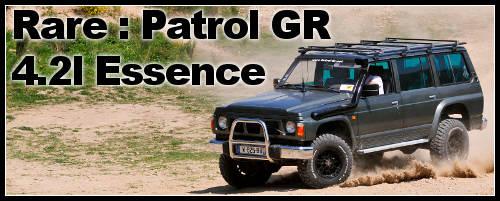 Un 4×4 rare : Patrol GR 4.2 l Essence Y60
