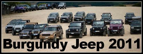 Burgundy Jeep 2011 c'est l'Amérique