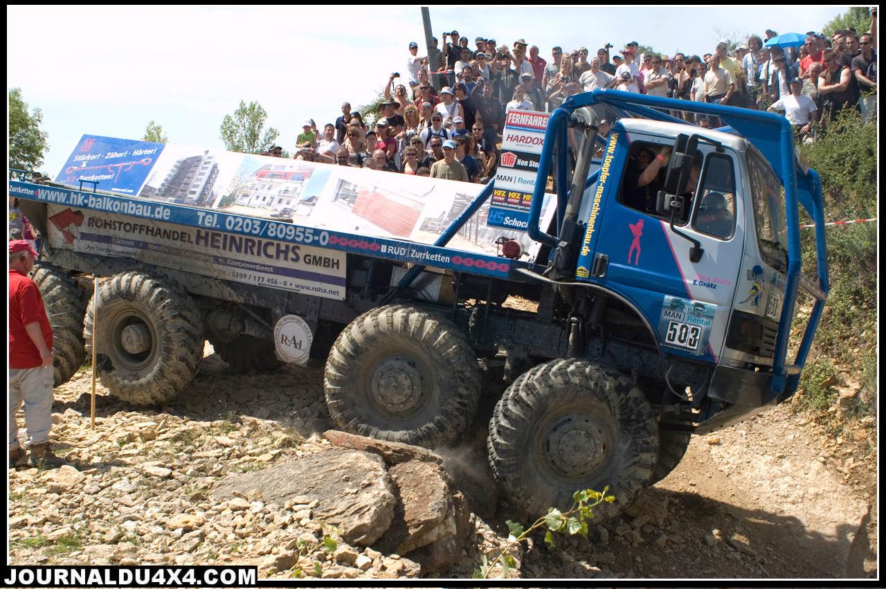 Europa Trucks Trial photos classement 2011