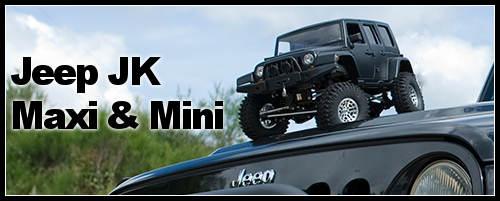 Jeep JK : belle préparation en mini ou maxi taille