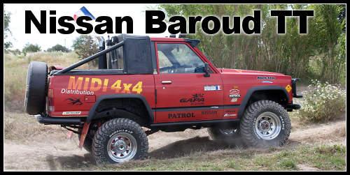 Nissan Baroud Y160 préparé TT