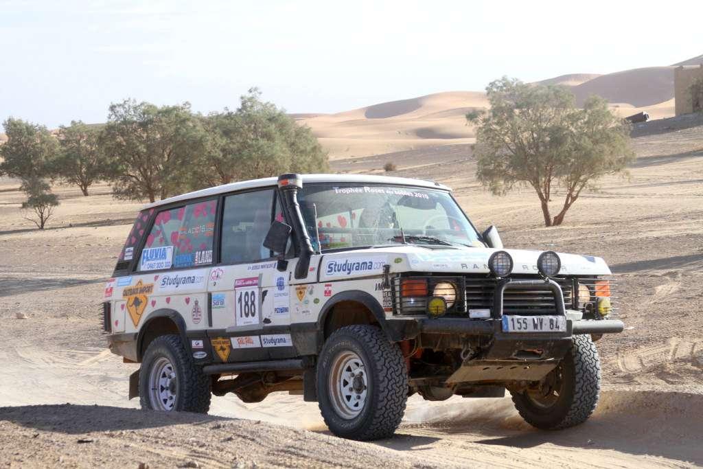 Range-Rover diesel VM 6 cylindres pour le Rallye Raid