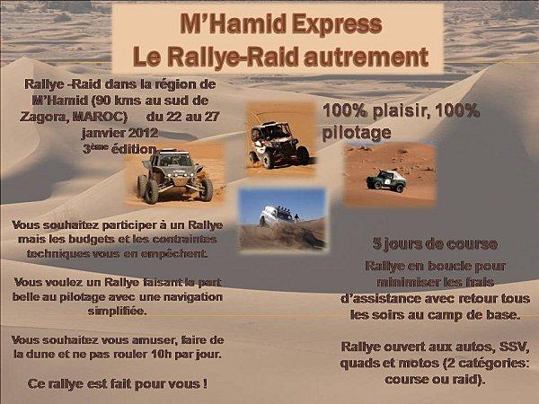 M'Hamid Express 2012