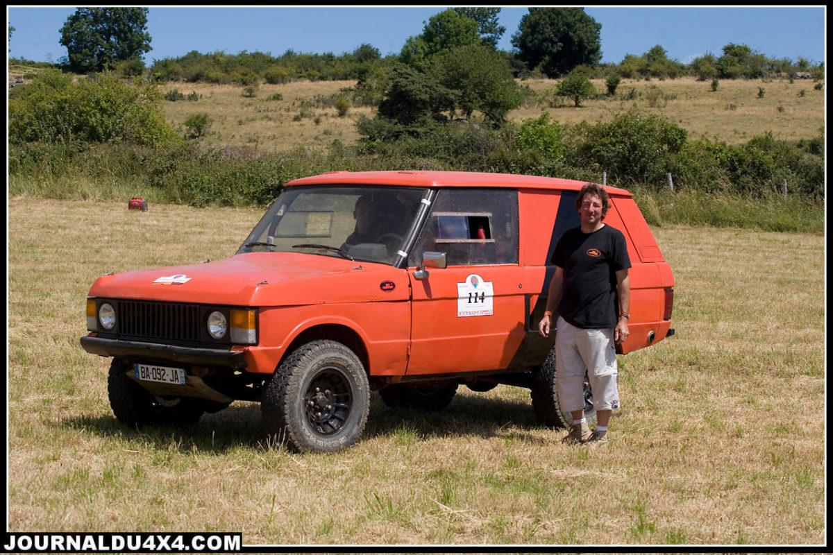 Range Rover RO2 aventure