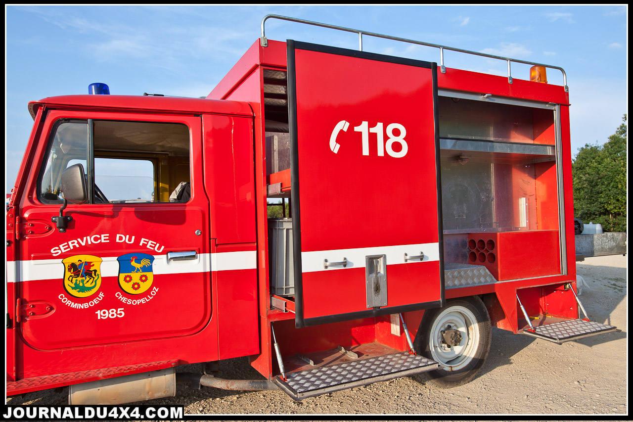 camion de pompier toyota