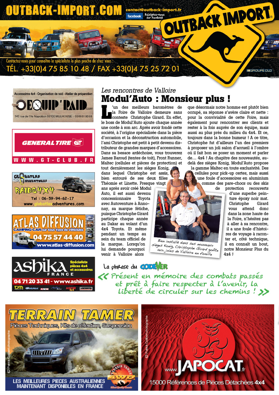 Salon de Valloire newsletter 2 page 1