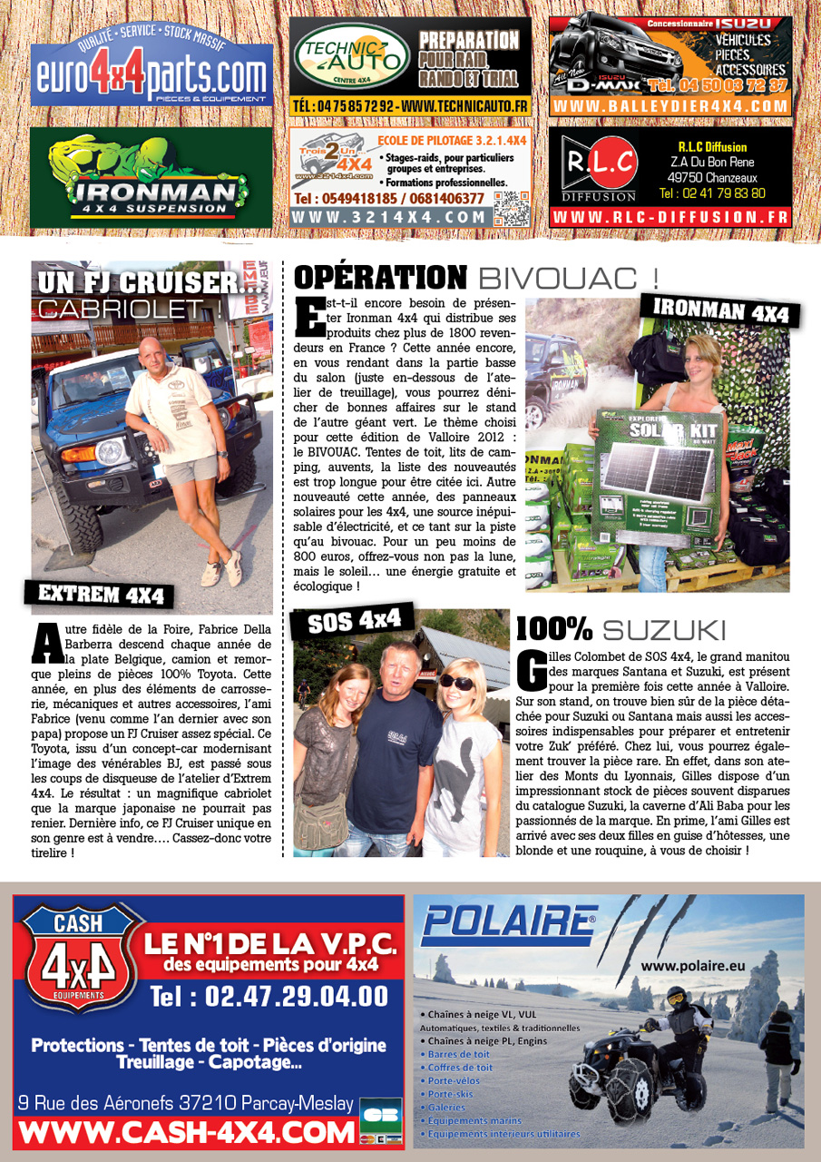 Salon de Valloire newsletter 1 page 3