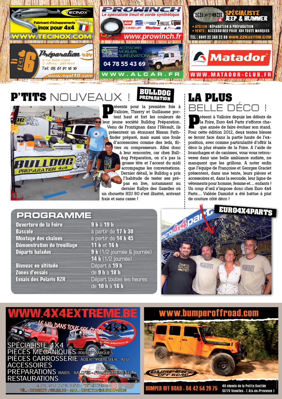 Salon de Valloire newsletter 2 page 4