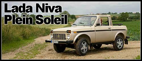 Niva 4×4 : une Lada cabriolet