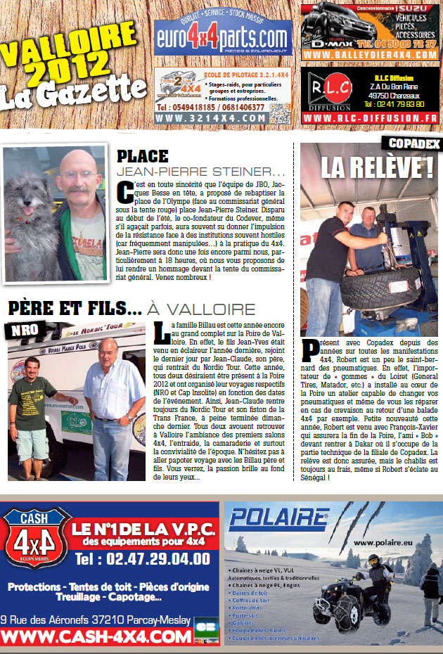 Salon de Valloire newsletter 1 page 2