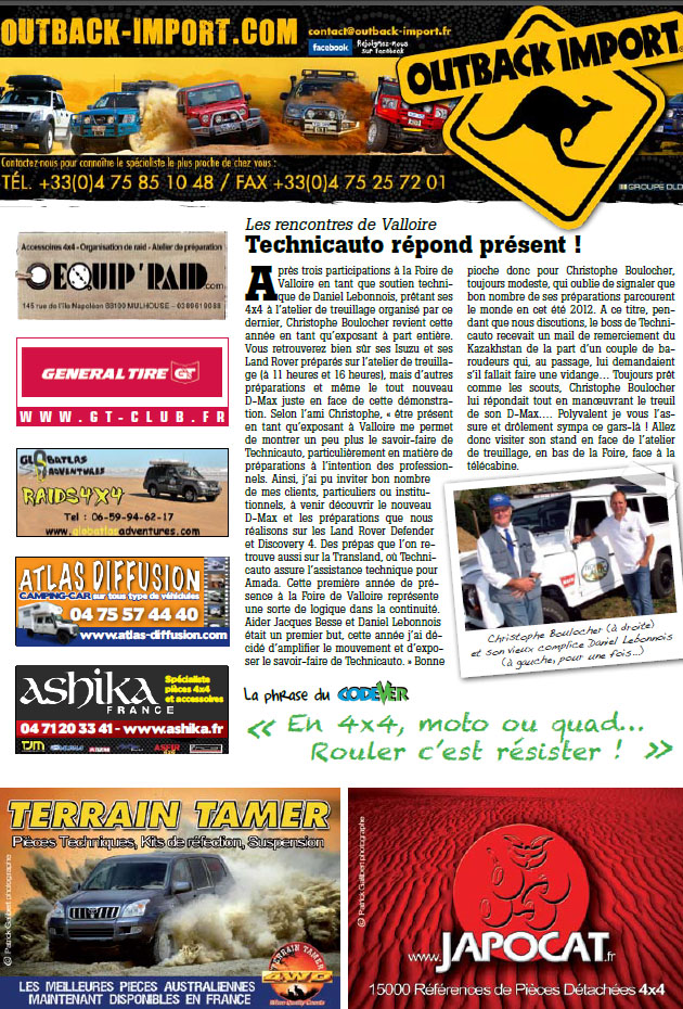 Salon de Valloire newsletter 1 page 4