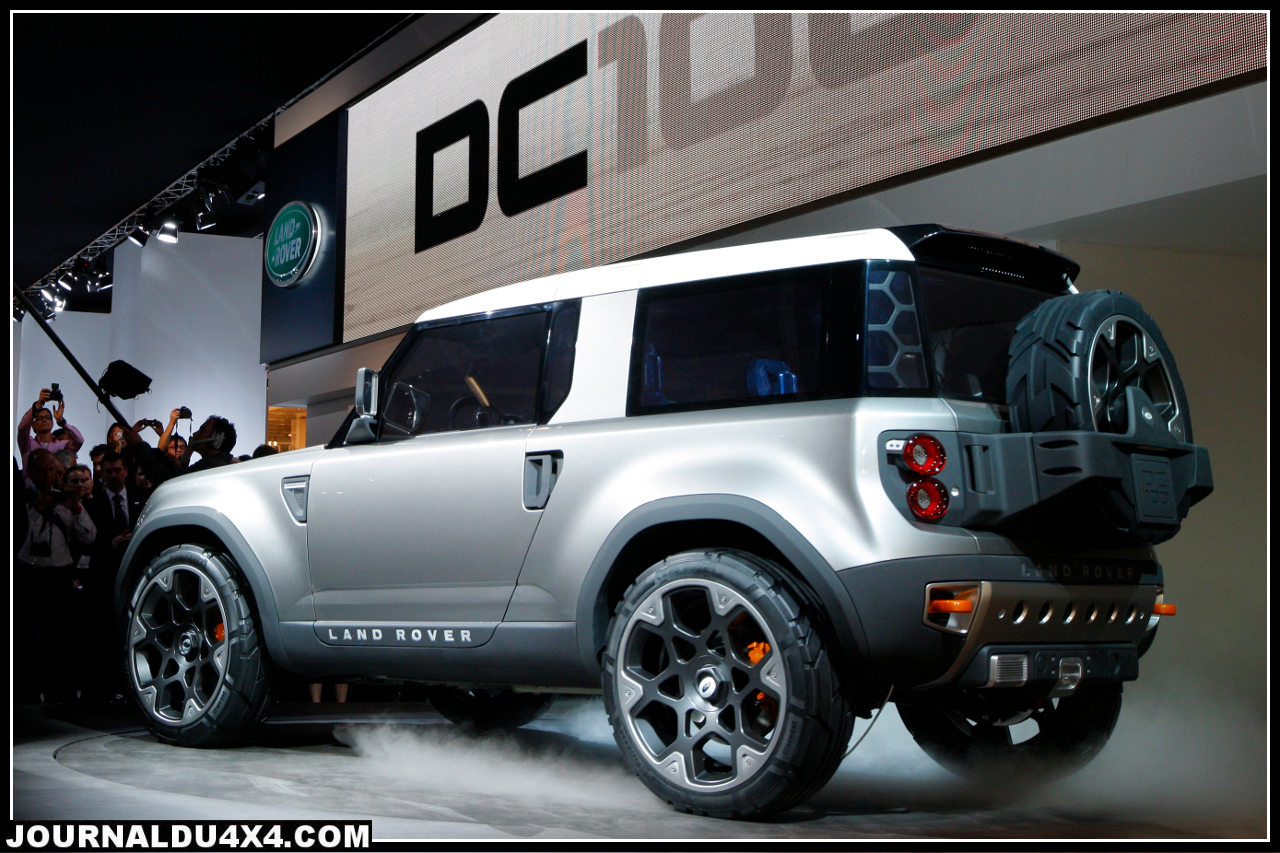 dc100 land rover