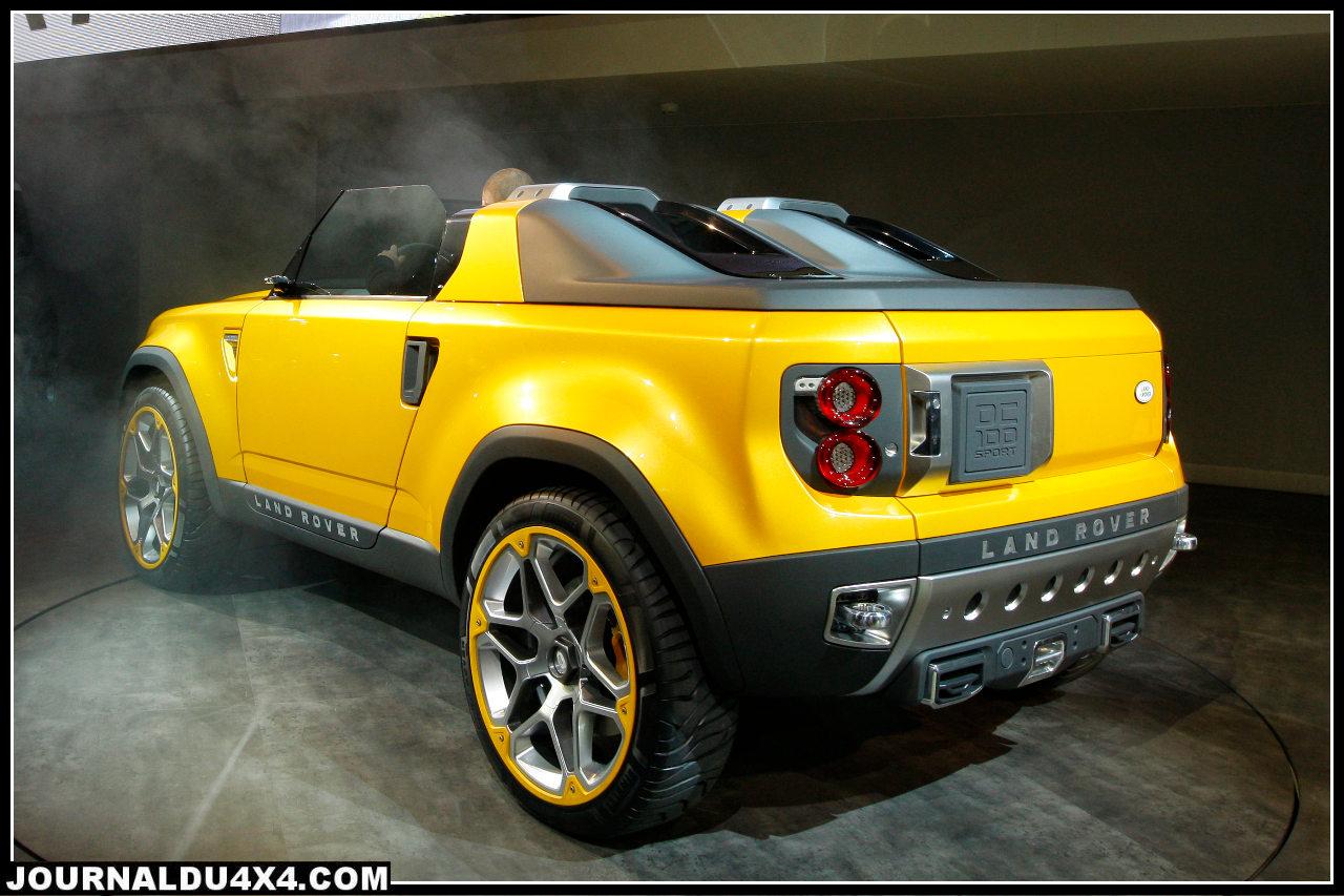 DC 100 Sport : concept car Land Rover