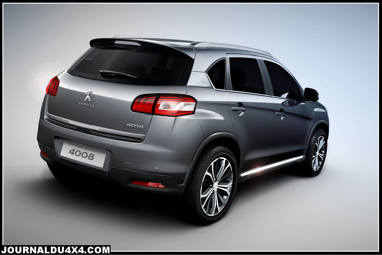 peugeot 4008 suv du nouveau pour 2012 magazine 4x4 suv. Black Bedroom Furniture Sets. Home Design Ideas