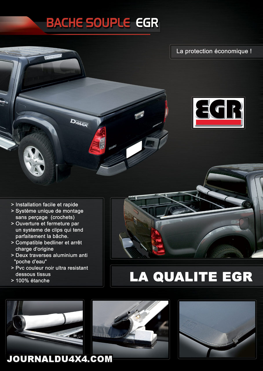accessoires pick up journal du 4x4 et suv. Black Bedroom Furniture Sets. Home Design Ideas